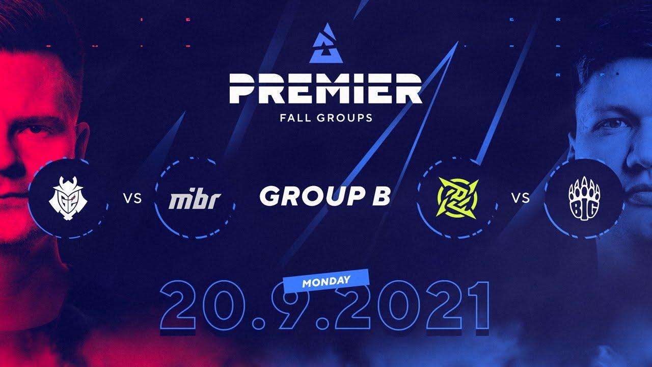 Download BLAST Premier Fall Groups: G2 vs. MIBR, NIP vs. BIG | Group B, Day 1