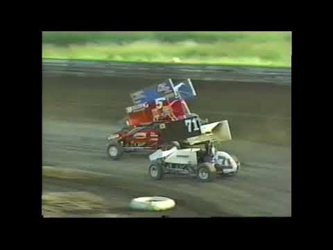 Grays Harbor Raceway 1997 NST ESSC Night #1 June 13th, 1997 *MLP Production - Edited by Strebfest. - dirt track racing video image