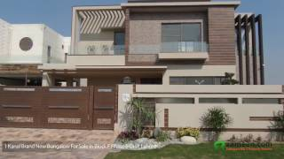 A BRILLIANTLY BUILT 1 KANAL BRAND NEW BUNGALOW IS UP FOR SALE IN DHA PHASE 6 LAHORE