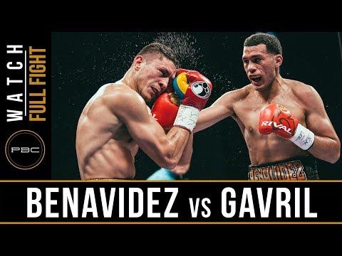 David Benavidez vs. Roamer Angulo / Давид Бенавидес - Роамер Ангуло