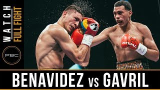 Benavidez vs Gavril FULL FIGHT: Sept. 8, 2017 - PBC on Showtime
