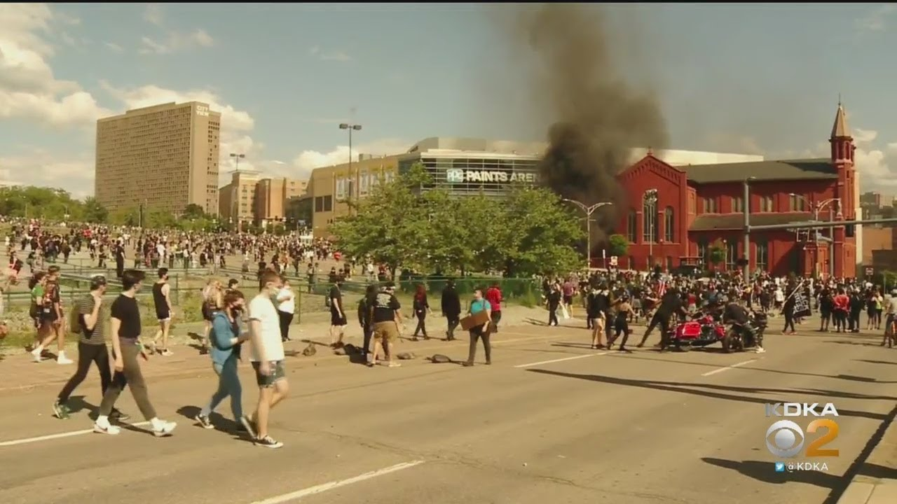 Pittsburgh Peaceful Protests Turn Violent