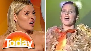 Sophie Monk's first ever TV performance