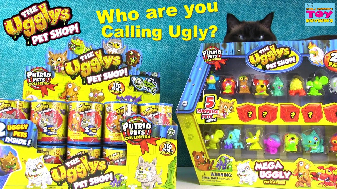 The Ugglys Pet Shop Series Cans ~ NEW Set of 12
