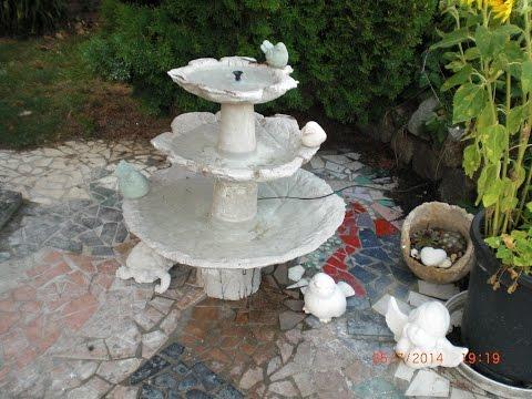 Video Springbrunnen Aus Beton Selber Machen So Zaubern Sie Die