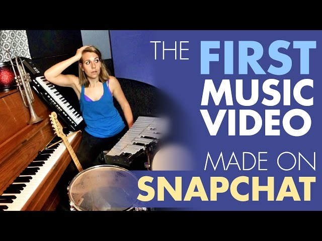The 1st Music Video Made on Snapchat