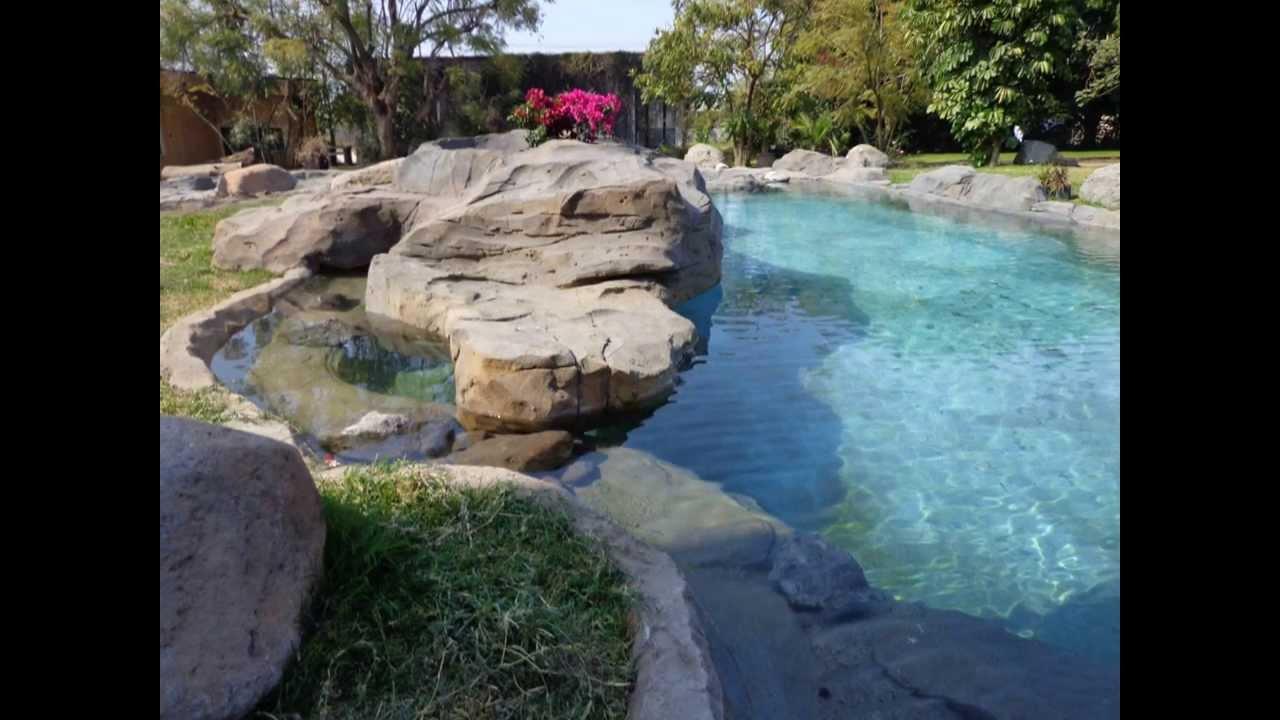 Rio artificial ines 2 youtube for Cascada artificial casera