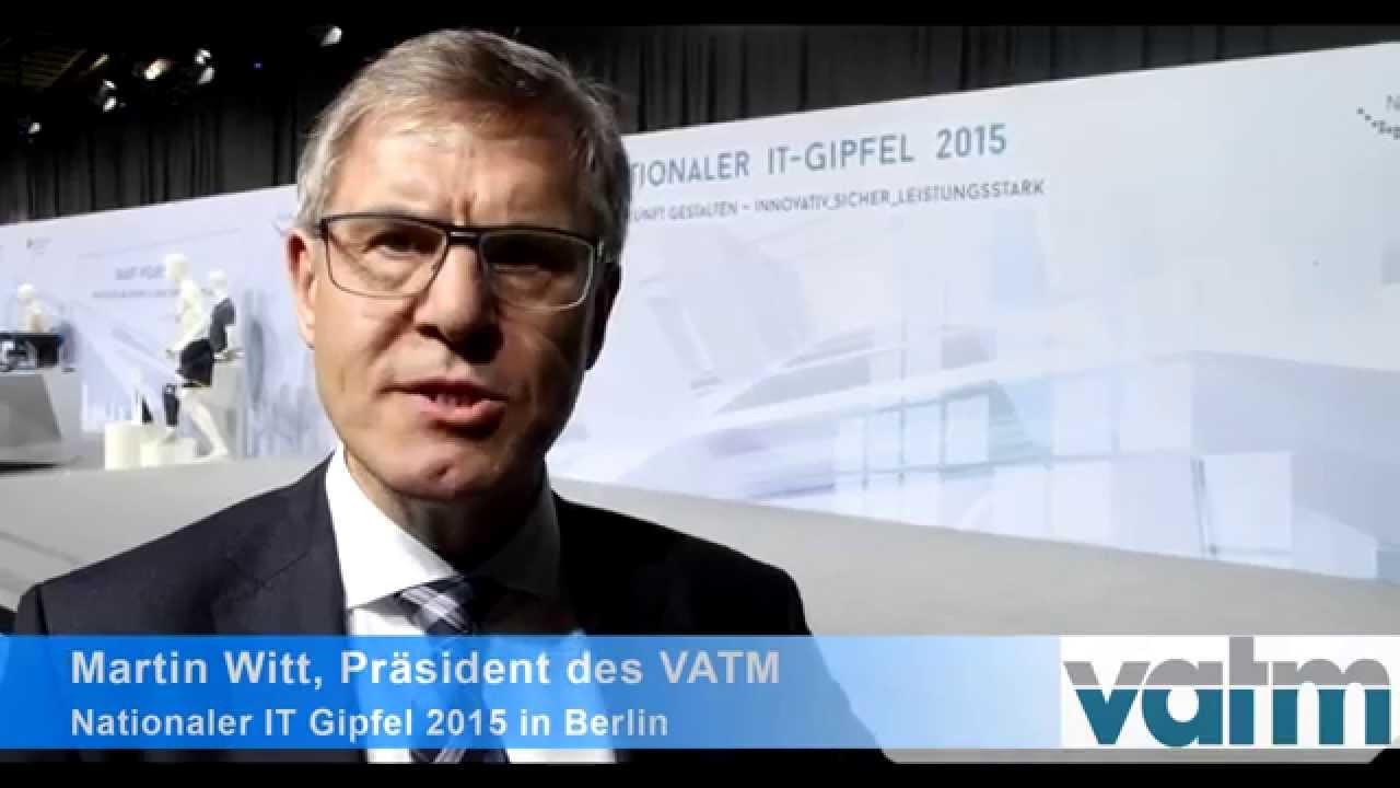 VATM-Präsident Martin Witt zu Glasfaserausbau und Wettbewerb - YouTube