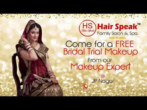 Bridal Makeup at HAIR SPEAK FAMILY SALON