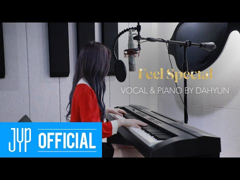 "TWICE DAHYUN ""Feel Special"" Piano"