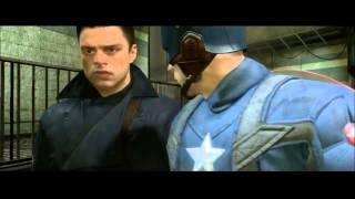 Captain America: Super Soldier cutscene - Rescuing Bucky