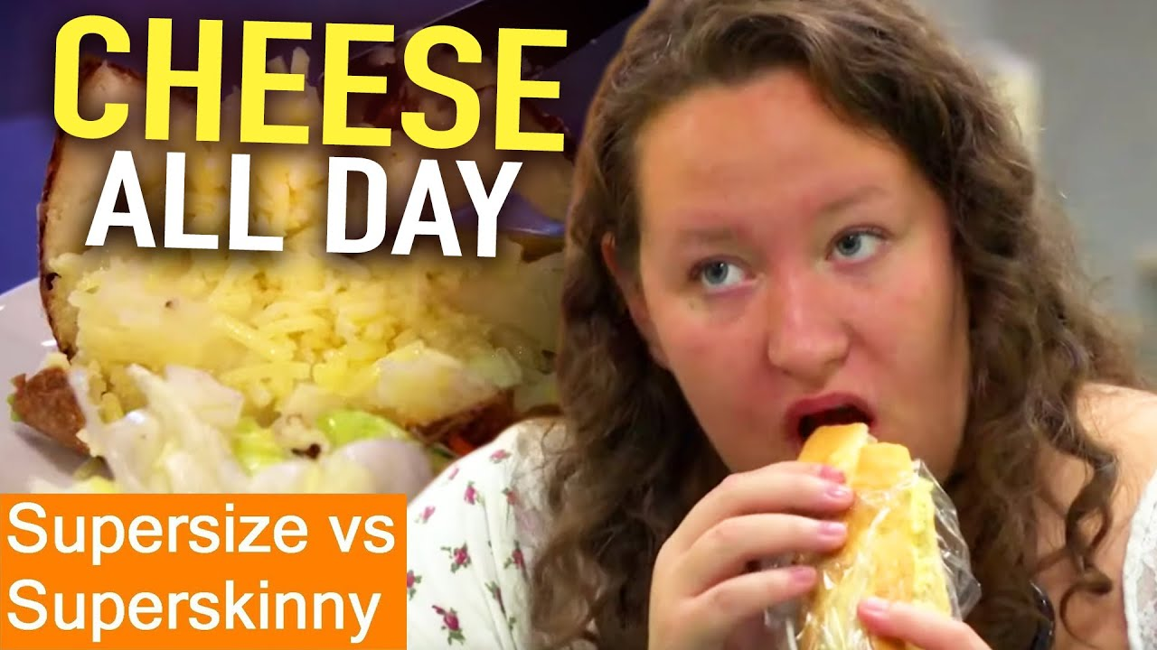 Download CHEESE Obsessed   Supersize Vs Superskinny   S05E08   How To Lose Weight   Full Episodes