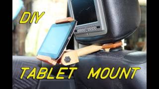 Tablet mount for car
