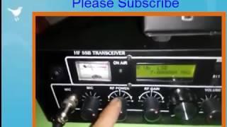 HF SSB Booster Test with 4 pcs IREX Final Transistor