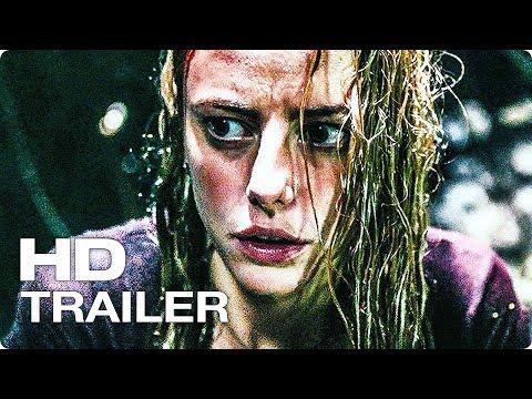 КАПКАН Русский Трейлер #1 (2019) Кая Скоделарио, Аллигатор Ураган, Фильм Ужасов HD