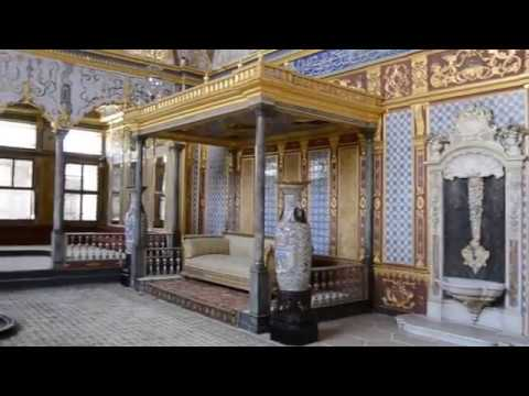 Topkapi Palace Harem, Istanbul Turkey, Virtual Walking Tour, Turkey Travel Guide