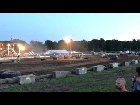 Ottawa County Fair 2017 Feature Race