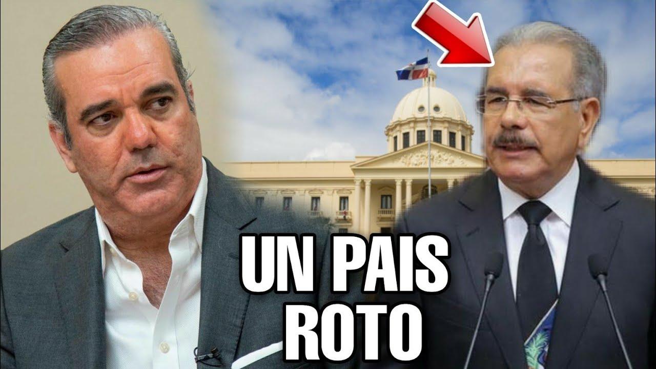 Abinader Advierte Que Danilo Le Dejará un país Roto