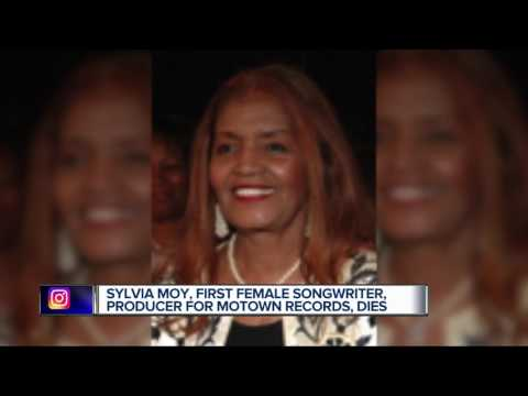 Legendary Motown Records writer, producer Sylvia Moy dies