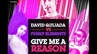 David Quijada Ft  Funky Elements - Give me a reason