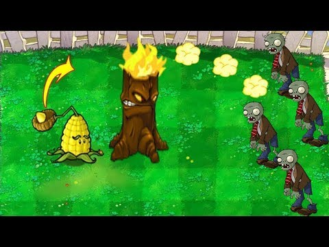 9999 Cob Cannon Torchwood vs All Zombies Plants vs Zombies