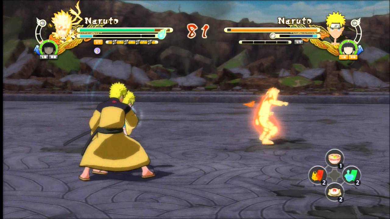 ☆DLC Showcase☆ Kimono Naruto (Tailed Beast Bomb) 【HD ...