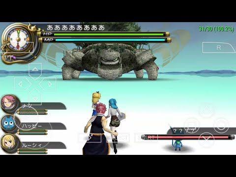 [Test] PPSSPP Fairy tail Portable Guild 2 on android + Setting