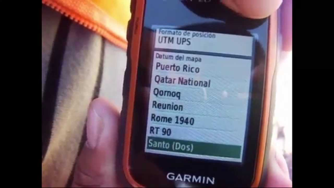 gps configuraci n de proyeccion y datum gps garmin etrex youtube rh youtube com manual de uso del gps garmin etrex Garmin GPS Instruction Manual