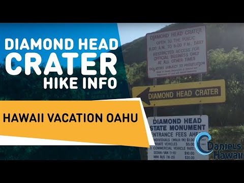 Diamond Head Crater Hike Info - Hawaii Vacation Oahu