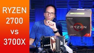 AMD Ryzen 3700X - Lohnt sich die Aufrüstung vom 2700? Video und Foto Editing Benchmarks! thumbnail