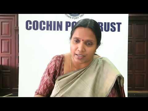 Dr. M. Beena IAS, Chairperson, Cochin Port Trust @ Webinar