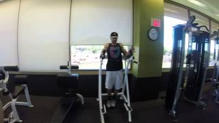 Captains Chair Twisting Leg Raises - Fit2perform