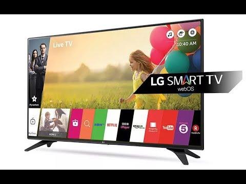 Как смотреть видео из компьютера на телевизоре  LG 43UK6200PLA.