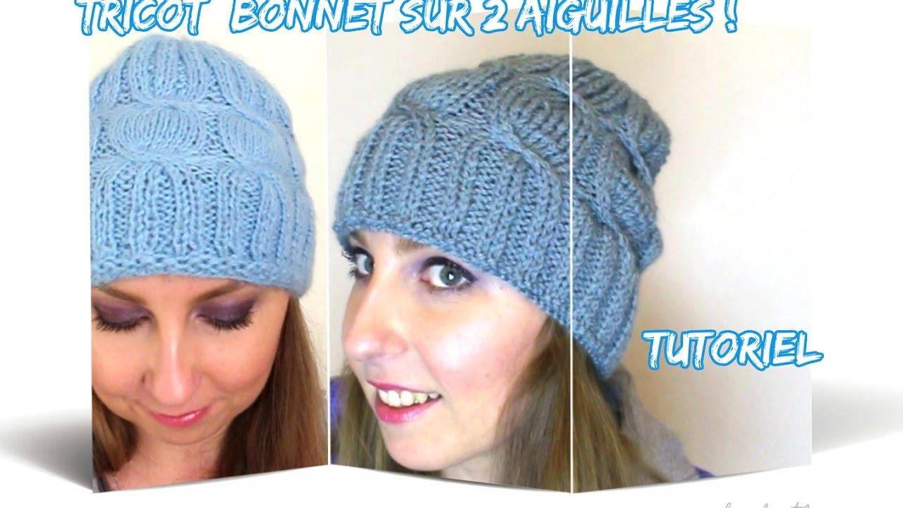 tricoter un bonnet lecon 13
