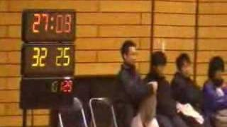 2007年12月16日(日)第16回福岡県学生ハンドボール選手権大会・男子、福岡大学 vs 福岡国際大学【後半】