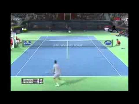 Roger Federer vs Novak Djokovic Highlights In Dubai 2014 SF HD