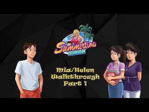 Summertime Saga    Mia/Helen Quest...