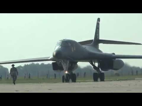 Dny NATO 2016 - přistání B-52 & B-1