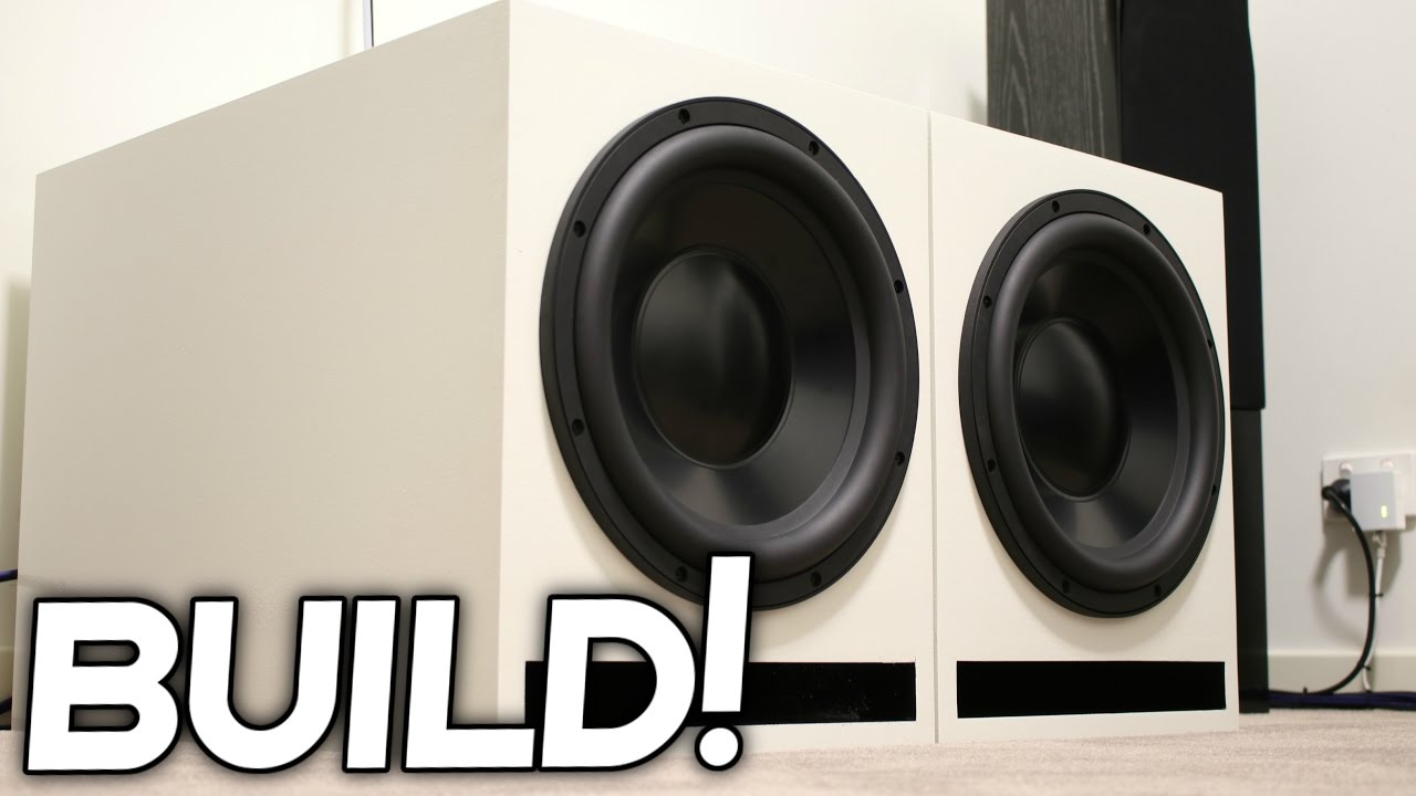 Diy Loud Subwoofer Box Build Youtube,Garage Design Software
