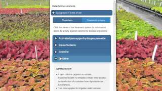 Waterborne Solutions - an online database of water treatment research
