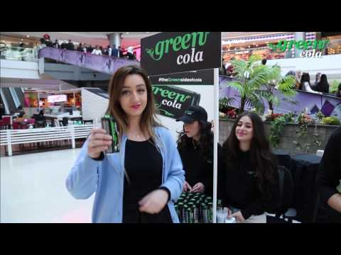 "Green Cola - Media "" The Open day of tasting "" City Mall - Amman. by: Leopard Eyes Advertising"