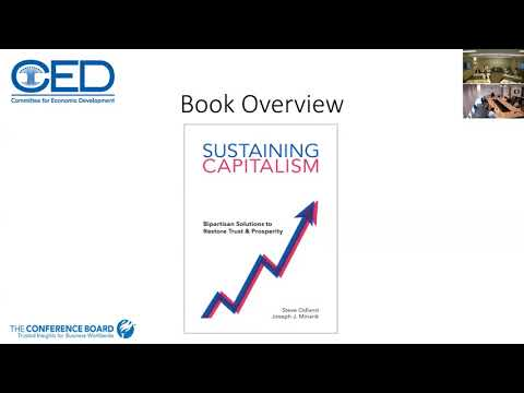 Policy Talk: SUSTAINING CAPITALISM: BIPARTISAN SOLUTIONS TO RESTORE TRUST AND PROSPERITY