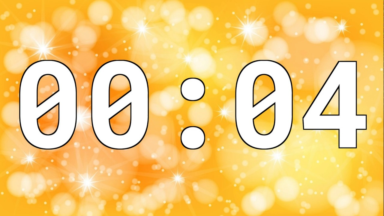 4 SECONDS TIMER COUNTDOWN