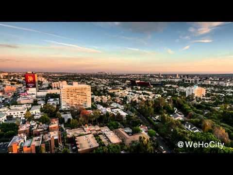 City of West Hollywood: A Time-Lapse