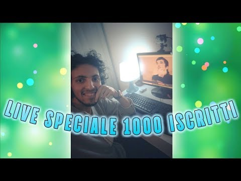 Live SPECIALE 1000 ISCRITTI Pt.2 w/mineral extreme