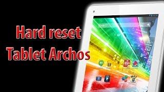Hard reset tablet archos. Restaurar de fabrica