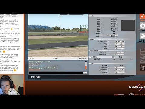 rFactor 2 - Setup Guide - Formula SimRacing FSR 2018 Development car - with Michi Hoyer