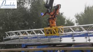 Wie können 11 x 2 m große Solar-Elemente verlegt werden?