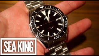 Sea King SK-1 300M Dive Watch Review - A hint of Seamaster