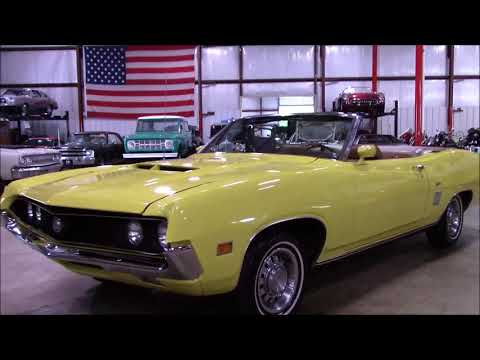Ford Torino Yellow